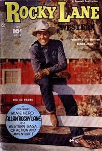 Cover Thumbnail for Rocky Lane Western (Fawcett, 1949 series) #3