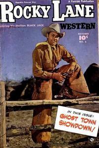 Cover Thumbnail for Rocky Lane Western (Fawcett, 1949 series) #6