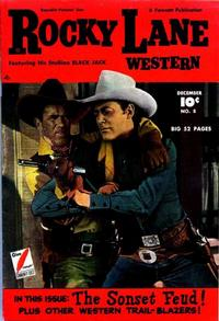 Cover Thumbnail for Rocky Lane Western (Fawcett, 1949 series) #8