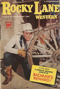 Cover Thumbnail for Rocky Lane Western (Fawcett, 1949 series) #10