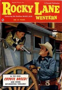 Cover Thumbnail for Rocky Lane Western (Fawcett, 1949 series) #12