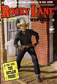 Cover Thumbnail for Rocky Lane Western (Fawcett, 1949 series) #15
