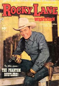 Cover Thumbnail for Rocky Lane Western (Fawcett, 1949 series) #17