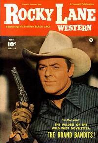 Cover Thumbnail for Rocky Lane Western (Fawcett, 1949 series) #18