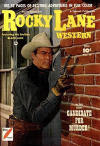 Cover Thumbnail for Rocky Lane Western (Fawcett, 1949 series) #19