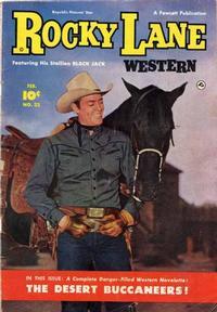Cover Thumbnail for Rocky Lane Western (Fawcett, 1949 series) #22
