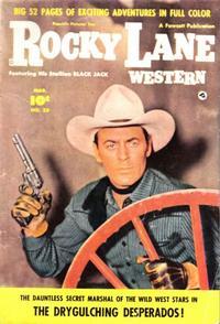 Cover Thumbnail for Rocky Lane Western (Fawcett, 1949 series) #23