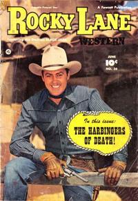 Cover Thumbnail for Rocky Lane Western (Fawcett, 1949 series) #26