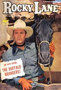 Cover Thumbnail for Rocky Lane Western (Fawcett, 1949 series) #27