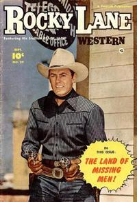 Cover Thumbnail for Rocky Lane Western (Fawcett, 1949 series) #29