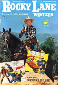 Cover Thumbnail for Rocky Lane Western (Fawcett, 1949 series) #33