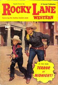 Cover Thumbnail for Rocky Lane Western (Fawcett, 1949 series) #40
