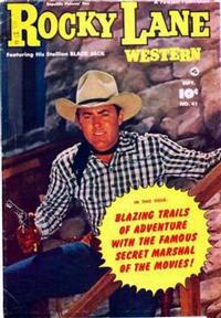 Cover Thumbnail for Rocky Lane Western (Fawcett, 1949 series) #41