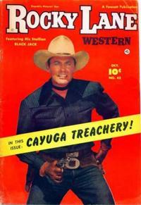 Cover Thumbnail for Rocky Lane Western (Fawcett, 1949 series) #42