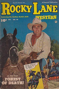 Cover Thumbnail for Rocky Lane Western (Fawcett, 1949 series) #44
