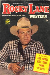 Cover Thumbnail for Rocky Lane Western (Fawcett, 1949 series) #45