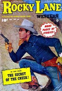 Cover Thumbnail for Rocky Lane Western (Fawcett, 1949 series) #46