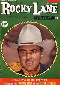 Cover Thumbnail for Rocky Lane Western (Fawcett, 1949 series) #49