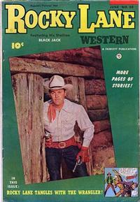 Cover Thumbnail for Rocky Lane Western (Fawcett, 1949 series) #50