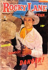Cover Thumbnail for Rocky Lane Western (Fawcett, 1949 series) #54