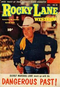 Cover Thumbnail for Rocky Lane Western (Fawcett, 1949 series) #55