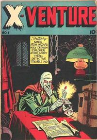 Cover Thumbnail for X-Venture (Victory Magazine Corporation, 1947 series) #1