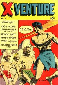 Cover Thumbnail for X-Venture (Victory Magazine Corporation, 1947 series) #2