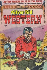 Cover Thumbnail for Silver Kid Western (Stanley Morse, 1954 series) #1