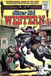 Cover Thumbnail for Silver Kid Western (Stanley Morse, 1954 series) #4