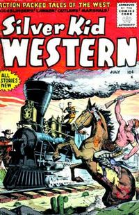 Cover Thumbnail for Silver Kid Western (Stanley Morse, 1954 series) #5