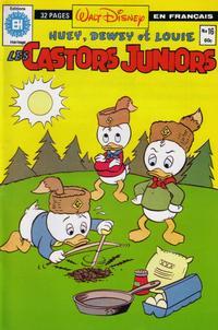 Cover Thumbnail for Les Castors Juniors (Editions Héritage, 1981 series) #16