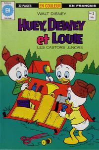 Cover Thumbnail for Huey, Dewey et Louie - Les Castors Juniors (Editions Héritage, 1980 series) #3