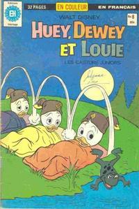 Cover Thumbnail for Huey, Dewey et Louie - Les Castors Juniors (Editions Héritage, 1980 series) #8