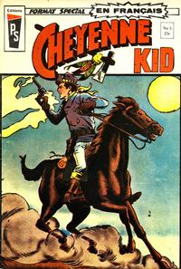 Cover Thumbnail for Cheyenne Kid (Editions Héritage, 1972 series) #3
