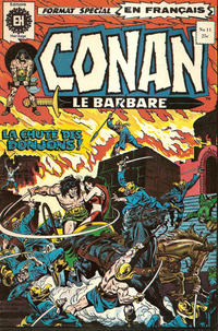 Cover Thumbnail for Conan le Barbare (Editions Héritage, 1972 series) #11