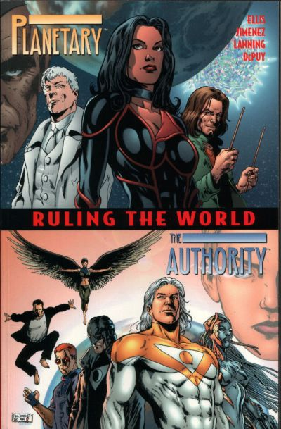 Cover for Planetary / The Authority: Ruling the World (DC, 2000 series)  [First Printing]