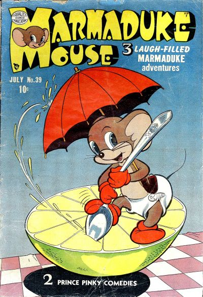Cover for Marmaduke Mouse (Quality Comics, 1946 series) #39