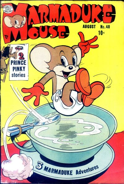 Cover for Marmaduke Mouse (Quality Comics, 1946 series) #40