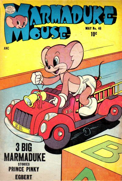 Cover for Marmaduke Mouse (Quality Comics, 1946 series) #46