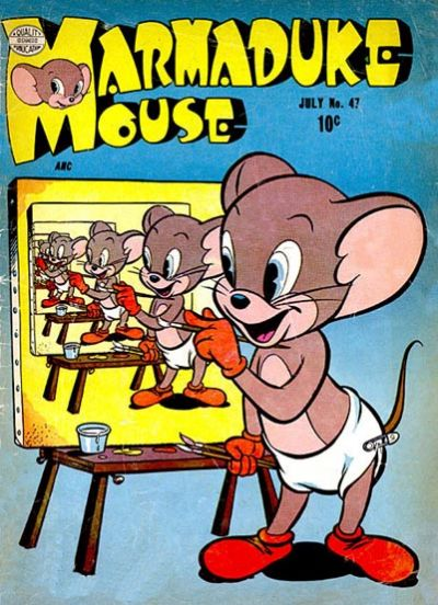 Cover for Marmaduke Mouse (Quality Comics, 1946 series) #47