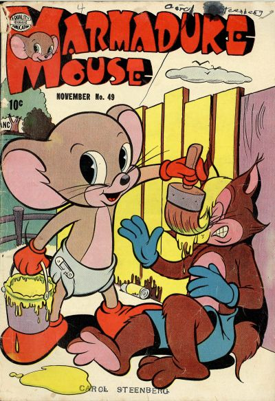 Cover for Marmaduke Mouse (Quality Comics, 1946 series) #49