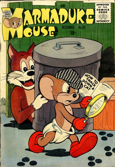 Cover for Marmaduke Mouse (Quality Comics, 1946 series) #56