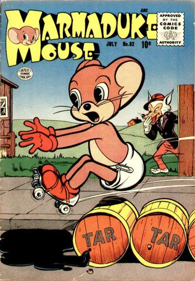 Cover for Marmaduke Mouse (Quality Comics, 1946 series) #62