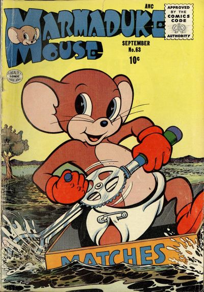 Cover for Marmaduke Mouse (Quality Comics, 1946 series) #63