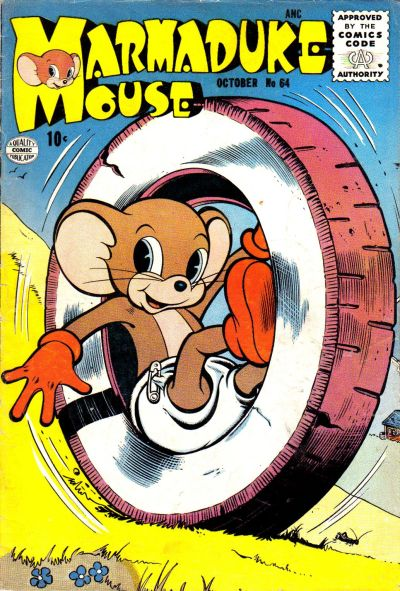 Cover for Marmaduke Mouse (Quality Comics, 1946 series) #64