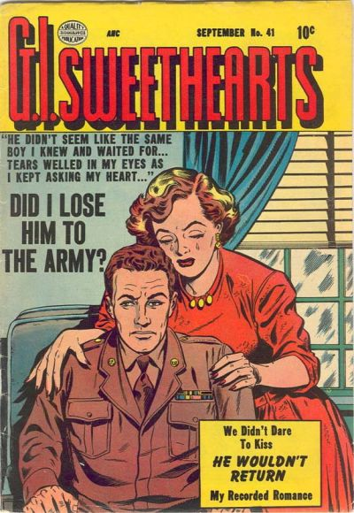 Cover for G.I. Sweethearts (Quality Comics, 1953 series) #41