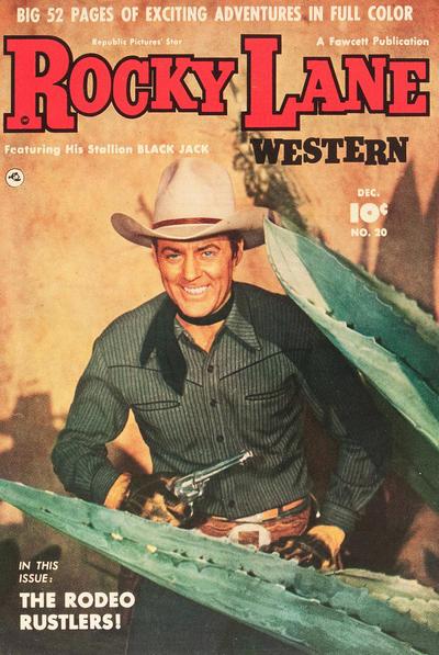 Cover for Rocky Lane Western (Fawcett, 1949 series) #20