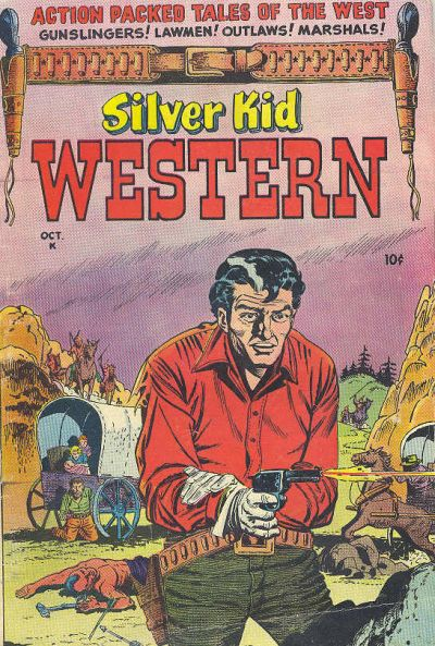 Cover for Silver Kid Western (Stanley Morse, 1954 series) #1