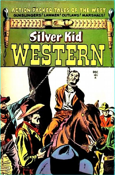 Cover for Silver Kid Western (Stanley Morse, 1954 series) #2