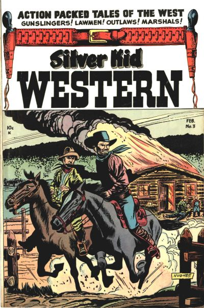 Cover for Silver Kid Western (Stanley Morse, 1954 series) #3